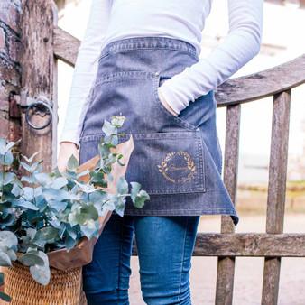 Denim Gardening Apron