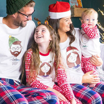 Family Portrait Christmas Pyjamas