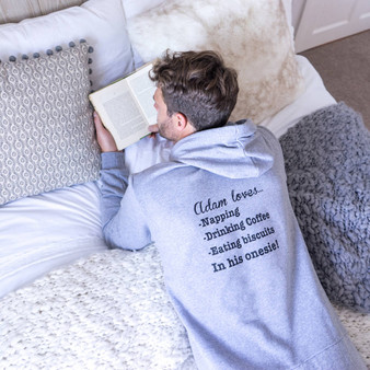 Mens My Favourite Things Onesie