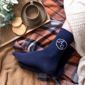 Ankle Monogram Men's Socks