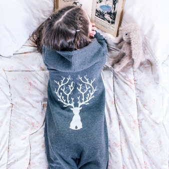 Reindeer Childrens Onesie