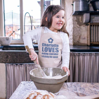 We Love Baking Childrens Apron