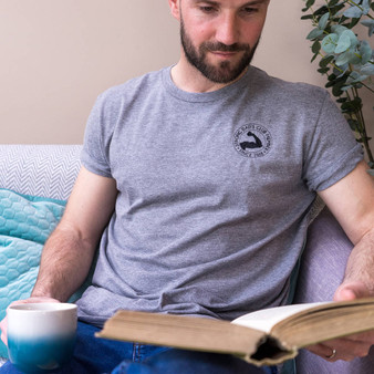 Embroidered Strong Dad's Club T Shirt