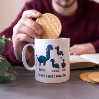 Daddy And Me Dinosaur Mug