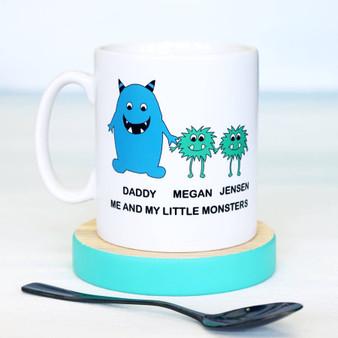 Little Monster Daddy Mug