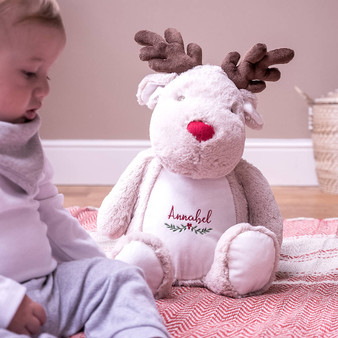 Reindeer Childrens Christmas Soft Toy