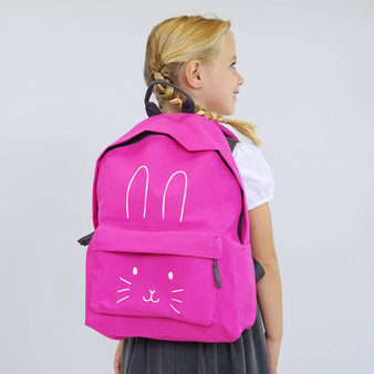 Bunny Face Children's Backpack
