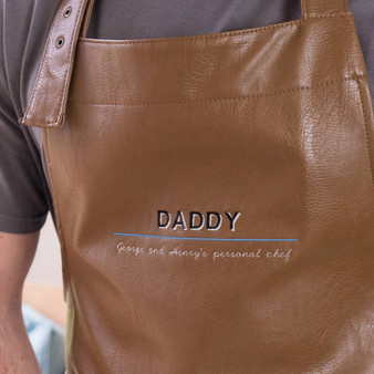 Personal Chef Vegan Leather Apron