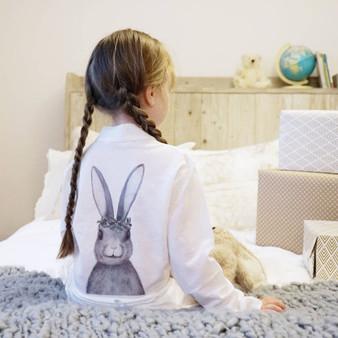 Children's Winter Rabbit Dressing Gown
