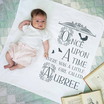 Once Upon A Time Baby Blanket