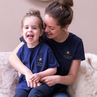 You Are My Sunshine Mummy And Me T Shirt Set