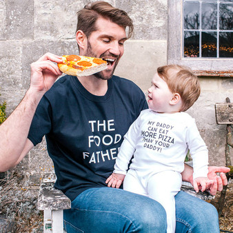 Food Father Daddy And Me T Shirt Set