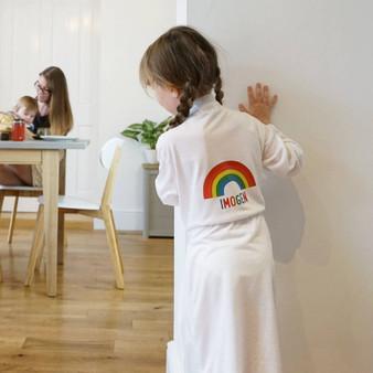 Children's Rainbow Dressing Gown