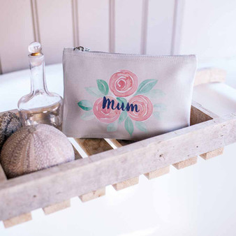 Rose Flower Pouch