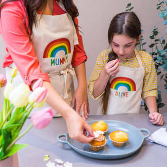 Rainbow Apron Set