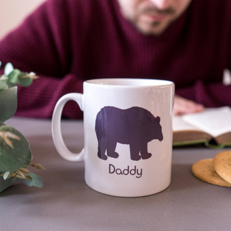 Daddy Bear Polar Bear Mug