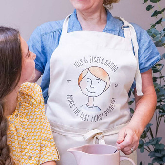 Our Nanna Portrait Cotton Apron