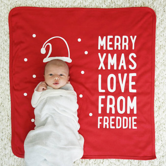 Santa Hat Baby Blanket