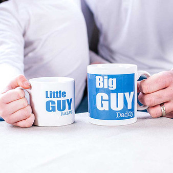 Daddy And Me 'Big Guy' Mug Set