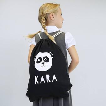 Panda Gym Bag