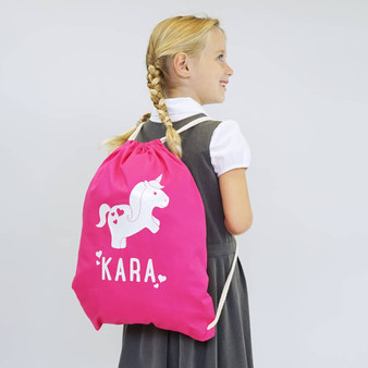 Unicorn Children's School Gym Bag