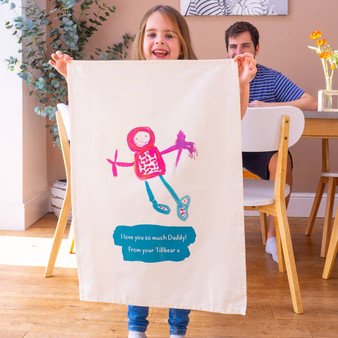 Your Child's Drawing Tea Towel