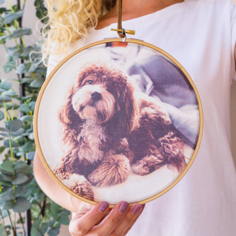 My Dog Photo Hoop