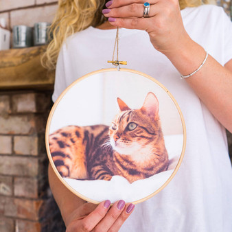 My Cat Photo Hoop