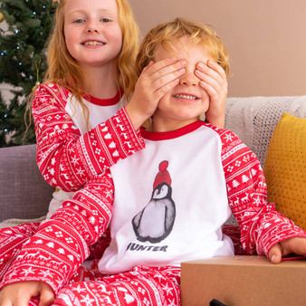 Penguin Children's Christmas Pyjamas