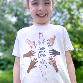 Hands Up For Equality Organic Children's T Shirt