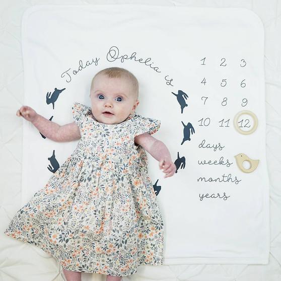 Baby Age Bunny Rabbit Blanket