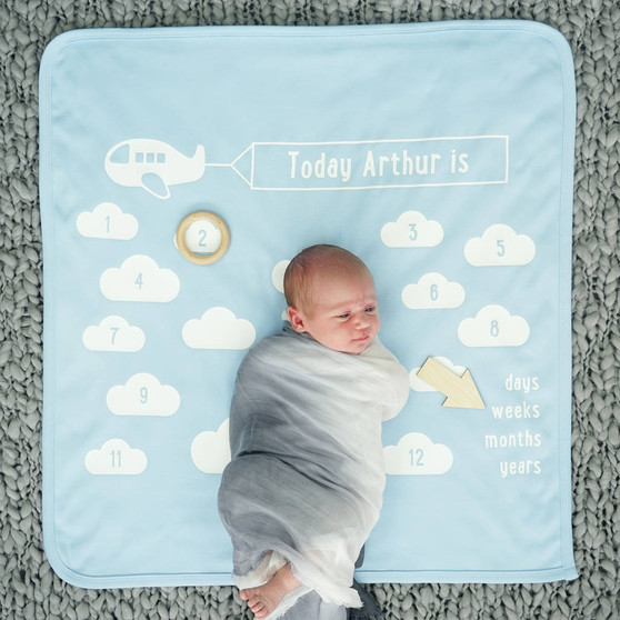 Little Aeroplane Baby Blanket Set