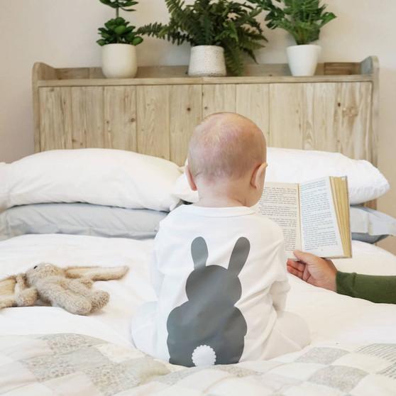 Bunny Rabbit Baby Sleepsuit