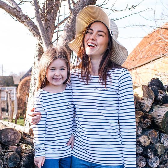 Mummy And Me Breton Tops
