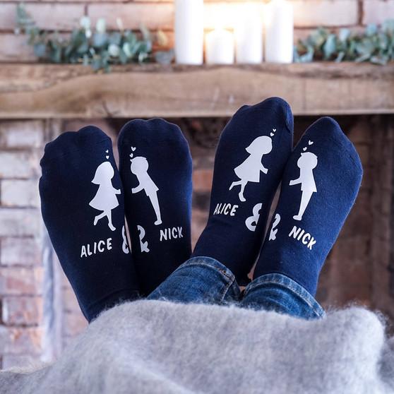 Kissing Couples Socks