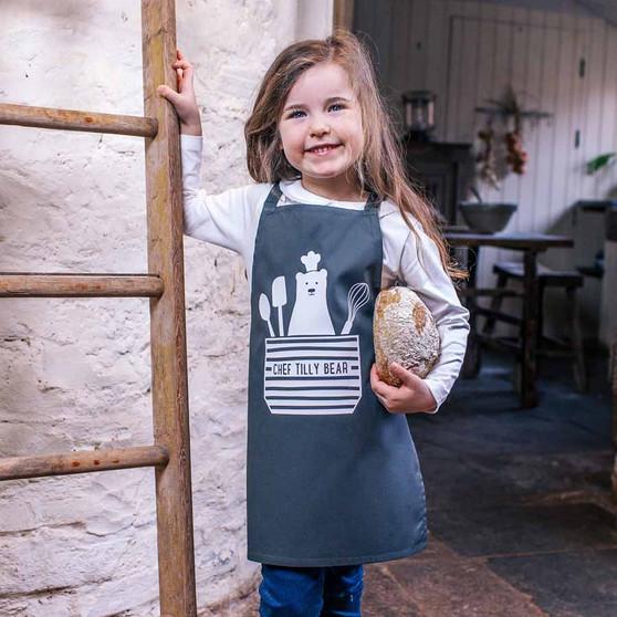 Little Bear Chef Children's Apron