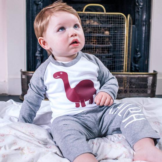 Childrens Dinosaur Pyjamas