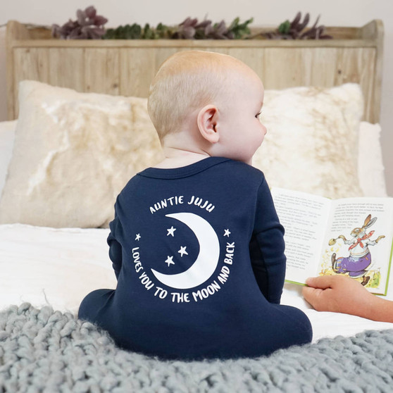 Love You To The Stars And Beyond Baby Sleepsuit