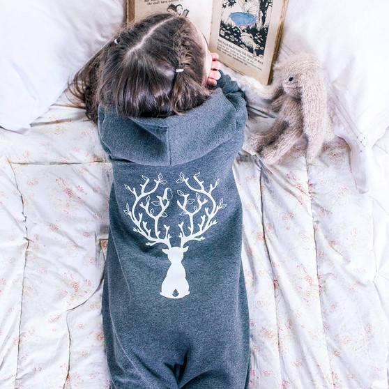 Reindeer Childrens Onesie