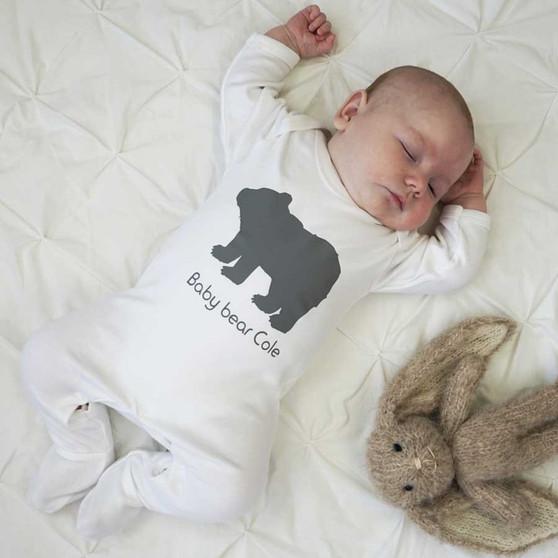 Baby Bear Sleepsuit