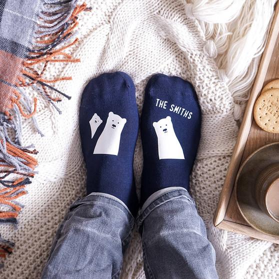 Bear Family Socks