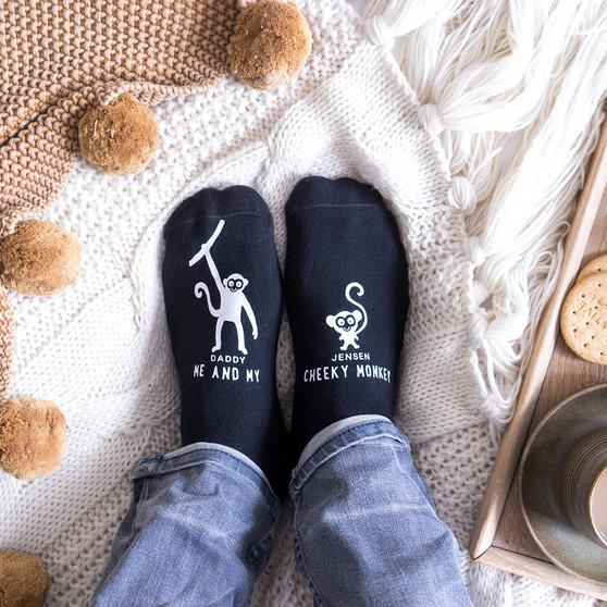 Cheeky Monkey Socks