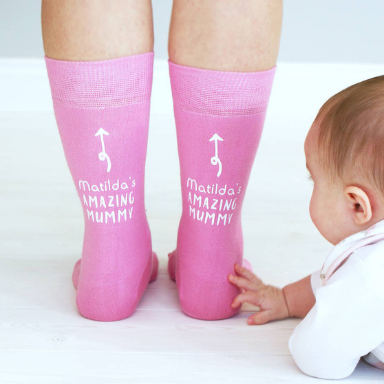 My Amazing Mummy Socks
