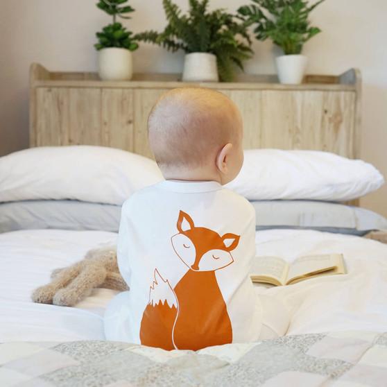 Fox Baby Sleep Suit