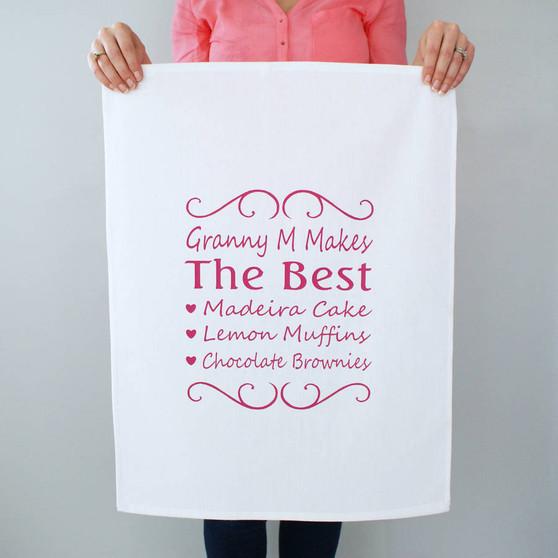 You're The Best Tea Towel