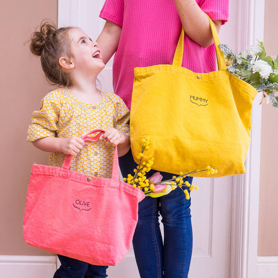 Mummy And Me Tote Bags