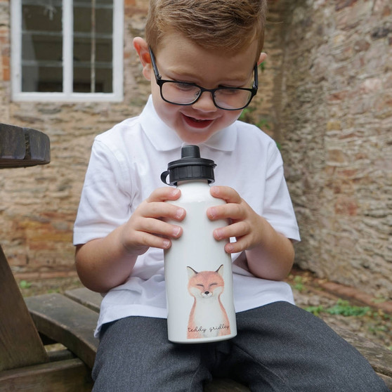 Finley Fox School Water Bottle