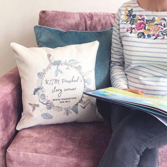 Fairytale Story Time Cushion