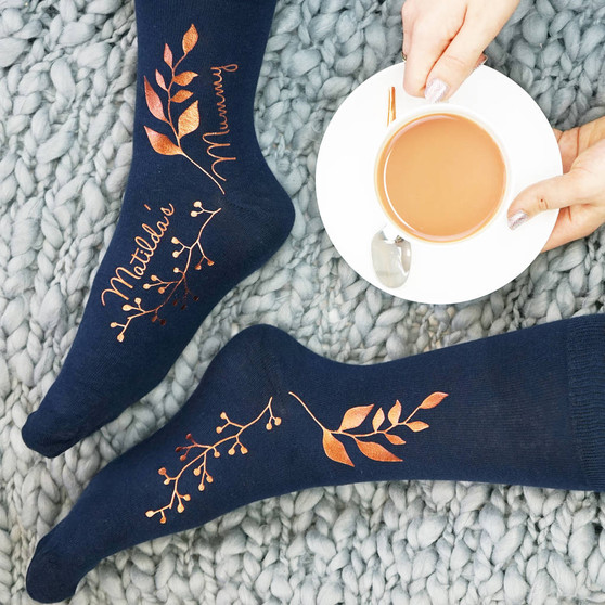 Botanical Socks