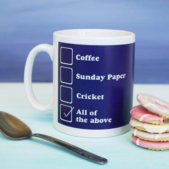 His Favourite Things Mug